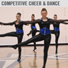 Competitive Cheer and Dance